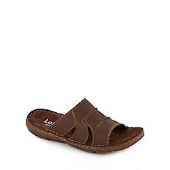 Lotus - Brown 'Campbell' sandals