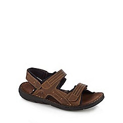 Lotus - Brown 'Kennedy' sandals