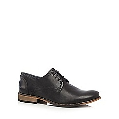 Lotus Since 1759 - Black 'Hanbury' Derby shoes