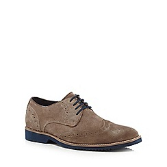 Lotus Since 1759 - Grey 'Robson' brogues