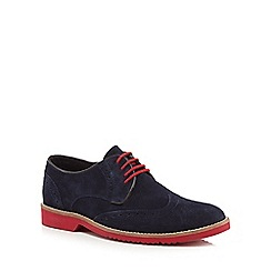 Lotus Since 1759 - Navy 'Robson' brogues