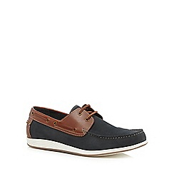 Lotus Since 1759 - Navy 'Exmouth' boat shoes