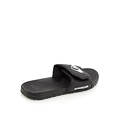 Quiksilver - Black rip tape sandals