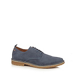 Jack & Jones - Blue 'Gobi' suede shoes