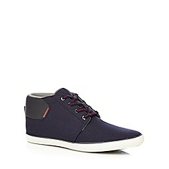 Jack & Jones - Navy 'Vertigo' shoe boots