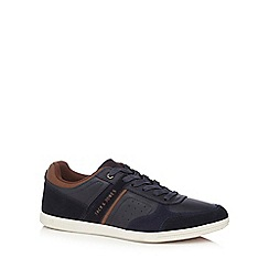 Jack & Jones - Navy 'Arcello' trainers
