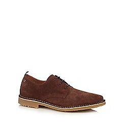 Jack & Jones - Brown 'Gobi' suede shoes