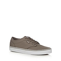 Vans - Beige canvas 'Atwood' lace up shoes