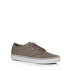 Vans - Beige canvas 'Atwood' lace up shoes