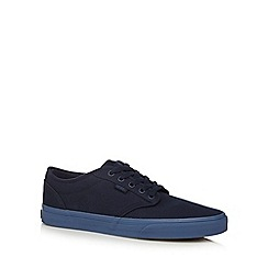 Vans - Navy canvas 'Atwood' lace up shoes