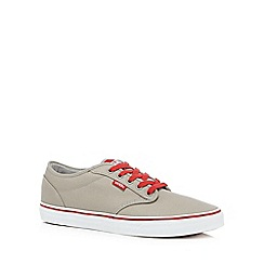 Vans - Grey 'Atwood' lace up shoes