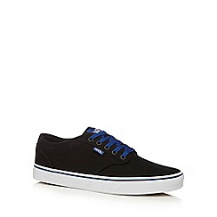Vans - Black canvas 'Atwood' lace up shoes