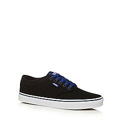 Vans - Black canvas 'Atwood' lace up shoes