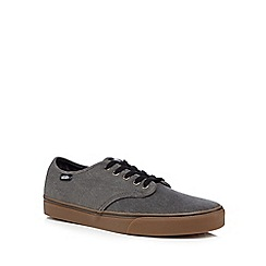 Vans - Grey canvas lace up shoes