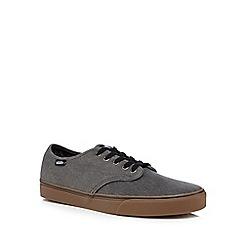 Vans - Grey canvas lace up shoes
