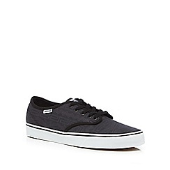 Vans - Dark grey 'Camden Deluxe' trainers