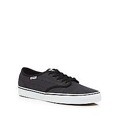 Vans - Dark grey 'Camden Deluxe' trainers