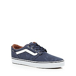 Vans - Navy 'Chapman Stripe' trainers