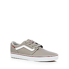 Vans - Grey 'Chapman Stripe' trainers