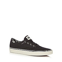 Vans - Grey canvas 'Millsy Vulcanised' lace up shoes