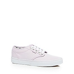 Vans - Pale pink 'Atwood' lace up shoes