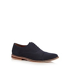 RJR.John Rocha - Navy suede Oxford shoes