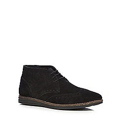 Red Tape - Black 'Mayo' Chukka boots
