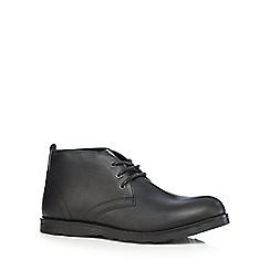 Red Tape - Black 'Tiffey' ankle boots
