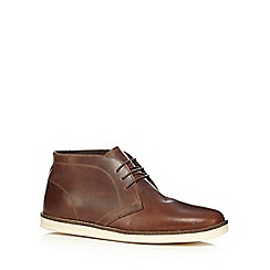 Red Tape - Brown 'Crumlin' desert boots