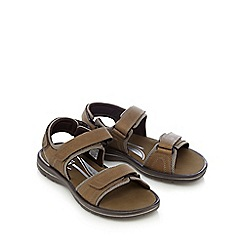 Rockport - Tan leather two part sandals