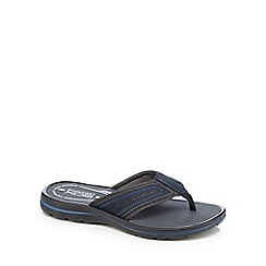 Rockport - Navy 'Get Your Kicks' thong sandals