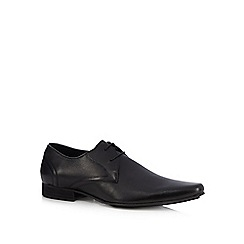 H By Hudson - Black 'Livingstone' Derby shoes