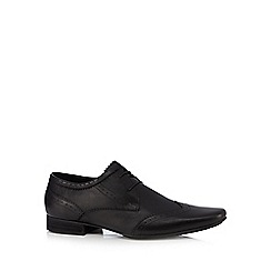 H By Hudson - Black 'Ellington' brogues