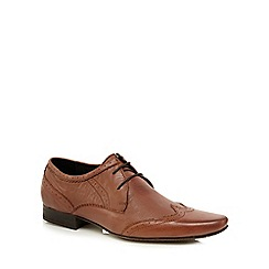 H By Hudson - Tan 'Ellington' brogues