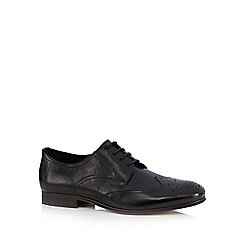 H By Hudson - Black 'Willistone' Derby shoes