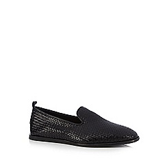 H By Hudson - Black 'Ipanema' slip-on shoes