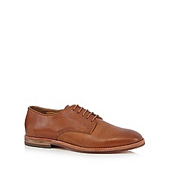 H By Hudson - Brown 'Hadstone' Derby shoes