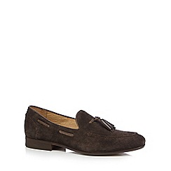 H By Hudson - Dark brown 'Pierre' loafers