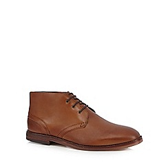 H By Hudson - Tan 'Houghton 3' Chukka boots