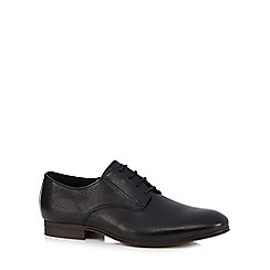 H By Hudson - Black 'Champlain' Derby shoes