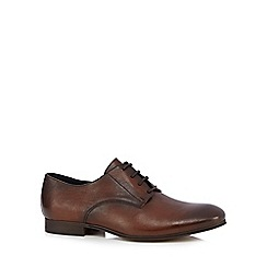 H By Hudson - Tan 'Champlain' Derby shoes
