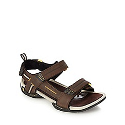 Clarks - Brown double strap sandals