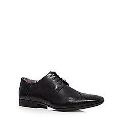 Clarks - Black 'Glint Street' formal lace up shoes