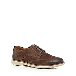 Clarks - Brown 'Raspin' brogues