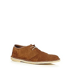 Clarks - Tan 'Jink' lace up shoes