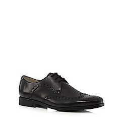 Clarks - Black 'Amieson Limit' lace-up brogues
