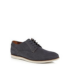 Clarks - Blue 'Franson Plain' formal shoes
