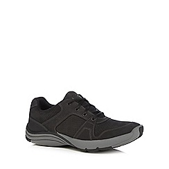 Clarks - Black 'Wave Launch' trainers