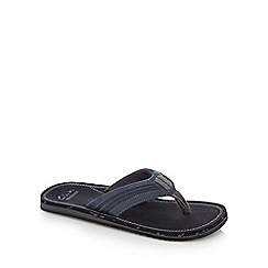 Clarks - Navy 'Riverway Sun' casual sandals