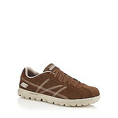 Skechers - Brown 'Go Walk Û Harbour' trainers